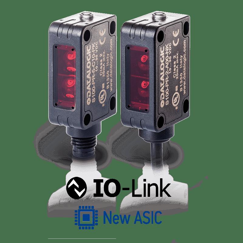 Datalogic S100 szabványos miniatűr optikai érzékelők