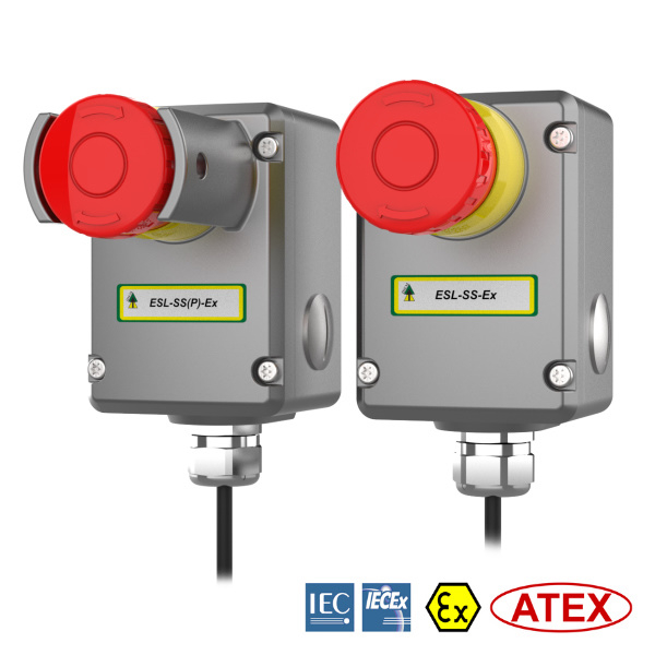 Explosion Proof E-Stop Safety Switches