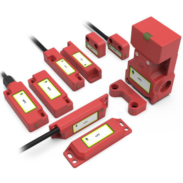 CODED MAGNETIC Safety Interlock Switches