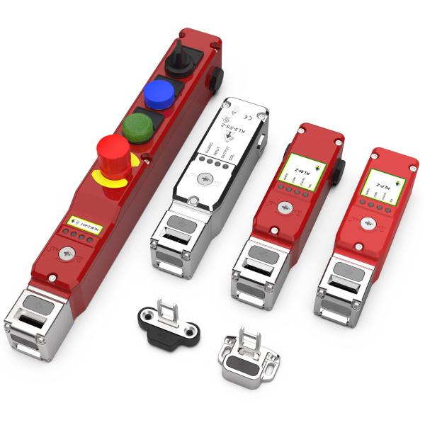 Z-Range Elektromágneses Reteszelésű RFID Biztonsági Kapcsolók OSSD Kimenettel